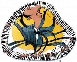 piano virtuoso, Cartoonist, Gitte Skov, gs, musikavisen optakt