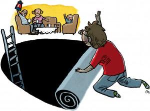 op af sort hul, depression, Gs, Gitte Skov, cartoonist, Socialpædagogen