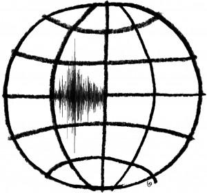 earthquake, richter scale, skalaen, Gitte Skov, gs, Blæksprutten