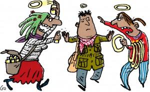 Arne Hardis, Weekendavisen, gs, Gitte Skov, Cartoonist, frelste, glorie, an offer you can't refuse, red verden, et tilbud du ikke kan sige nej til