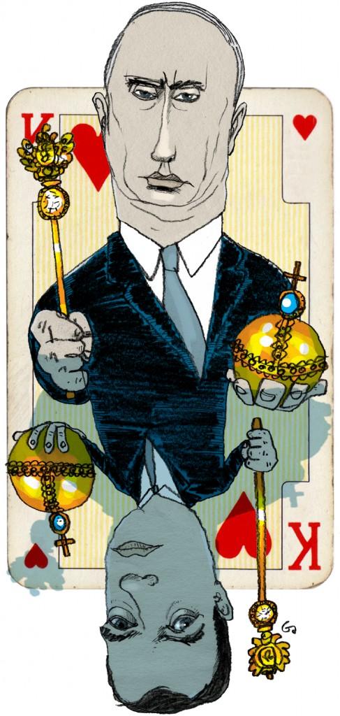 Weekendavisen, Gitte Skov, gs, Konge og knægt, russisk politik, magtspil, Vladimir Putin, Dmitry Medvedev