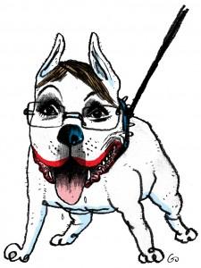 pitbull, Sarah Palin, dræberhund, Blæksprutten, Gitte Skov, gs
