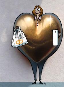 hjerte af guld, besøgsven, heart of gold, Socialpædagogen, Gitte Skov, gs