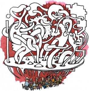 branstorm, meating, innovation, Gitte Skov, cartoonist, Hk Stat magasinet, gs