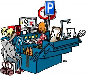 the socialworker's toolbox, Gitte Skov, Cartoonist, Weekendavisen, gs